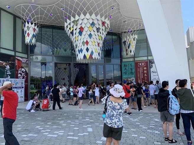(台開花蓮新天堂樂園,已成為今年花蓮觀光人次造訪最多的13個景點中的第二名。圖/台開提供)