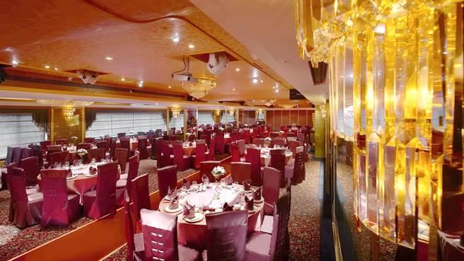台北天成大飯店宴會廳。(天成飯店集團提供)