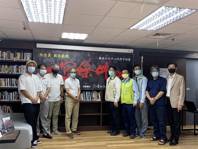 綠光劇團《人間條件六─未來的主人翁》壓軸場獻給台南,11月27、28日將在台南演出3場。(曹婷婷攝)