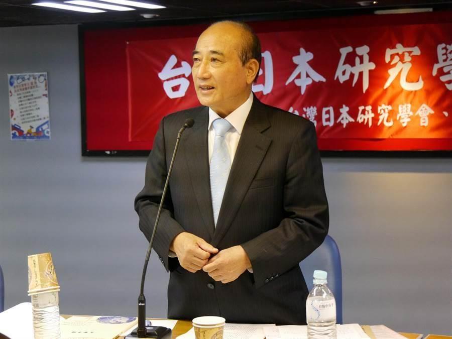 前立法院長王金平。(資料照,圖/張國威攝)
