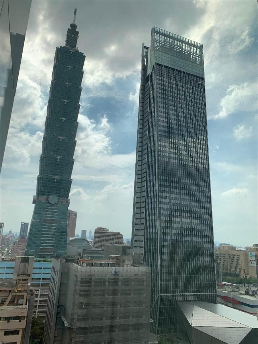 台北市辦公室租金漲好兇!漲幅叫我亞太第一!以2%的單季漲幅、3.8%的年漲幅居亞太區之冠。圖/蔡惠芳