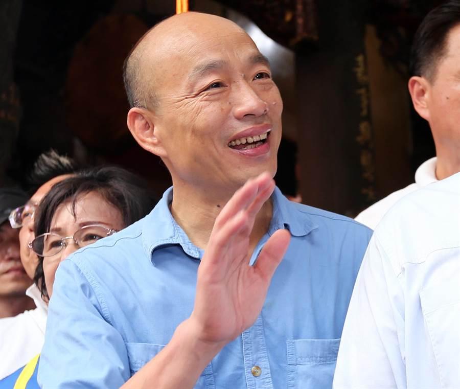前高雄市長韓國瑜。(資料照,黃世麒攝)