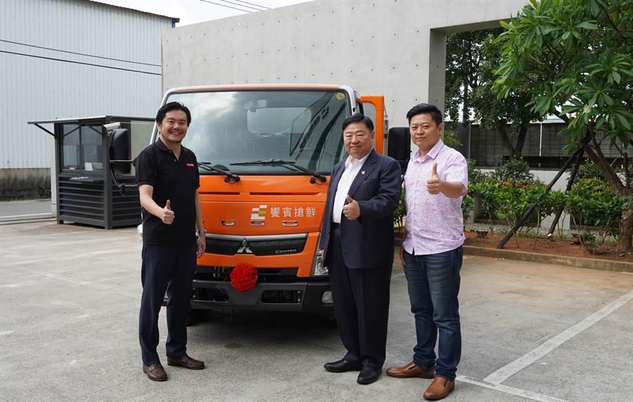 5噸小貨車管理條文正式上路了 「FUSO PRO 5」發表首台交車儀式搶焦點