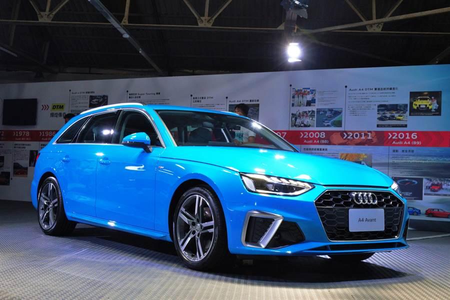 Audi RS 4 Avant領軍小改款A4下周上市 同場預告RS性能家族年底登台
