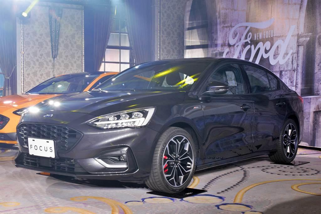 Ford導入Focus四門ST-Line Lommel