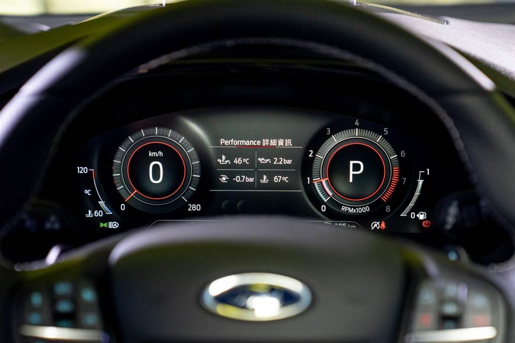 ST/ST Wagon新增12.3吋全數位液晶儀表。