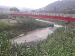 景美溪現遭乳白色液體汙染 營造工地恐遭罰最高300萬罰鍰