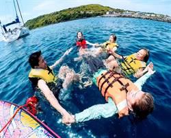 小琉球新玩法不擠人 重型帆船環球之旅正夯