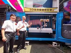 全球首台種豬體型3D自動量測機 15秒搞定7項量測