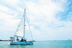 優游小琉球 重型帆船這樣玩