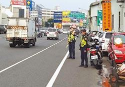 奇美醫院前 台南最危險路口
