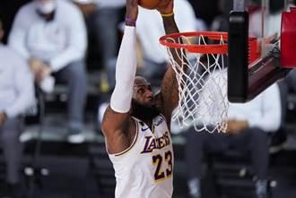 NBA》季後賽數據狂人 詹姆斯六項史上第一