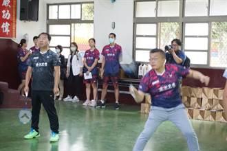 合庫銀行捐贈百萬元球具 中市9所羽球重點學校受惠