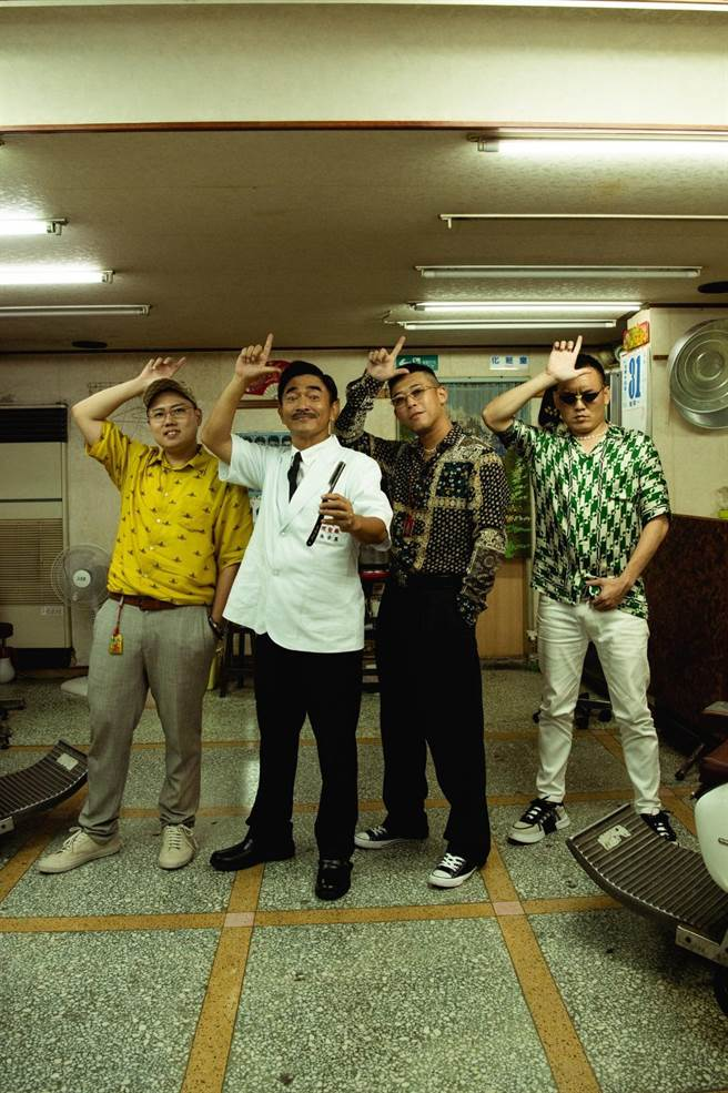玖壹壹新歌〈LOCAL〉請來吳宗憲助陣。(混血兒娛樂提供)