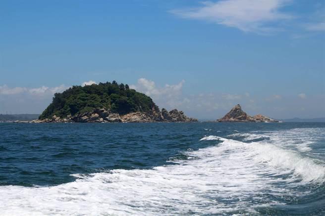 台金旅遊業者合推「金門跳島海上行」新遊程,期待成為國內旅遊的新賣點。(李金生攝)