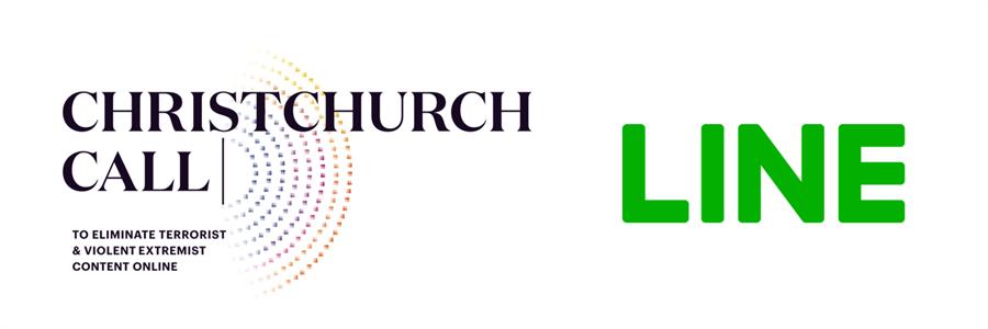 LINE成為首個加入「基督城呼籲」的亞洲公司,防止恐怖主義與暴力極端主義內容的傳播。(LINE提供/黃慧雯台北傳真)