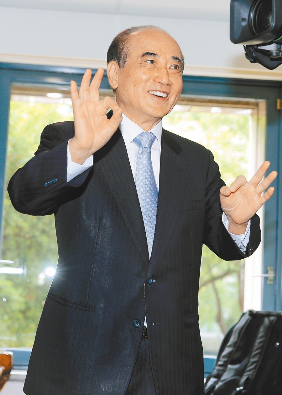 前立法院長 王金平(黃世麒攝)