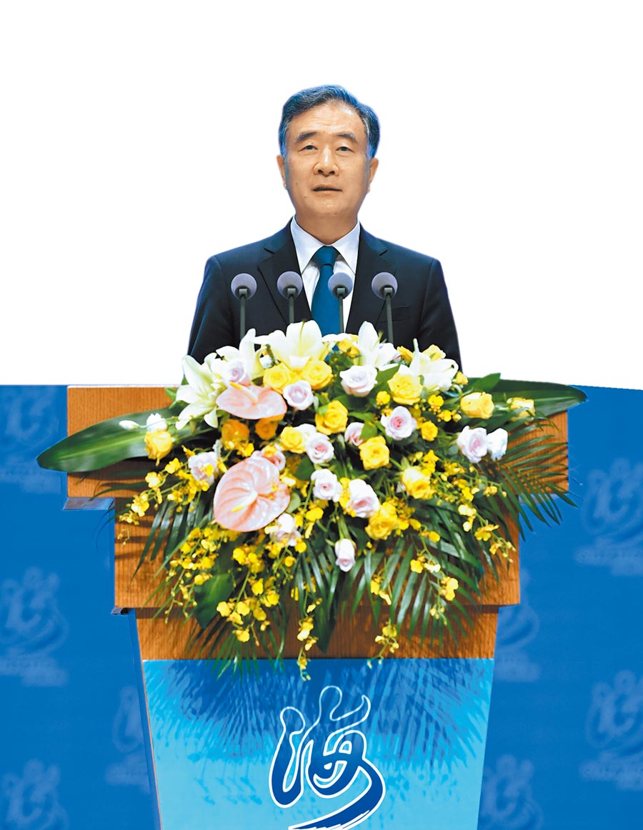 大陸全國政協主席 汪洋(新華社)