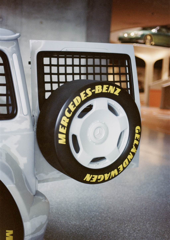 為慈善而生 Mercedes-Benz G-Class X Virgil Abloh跨界藝術品