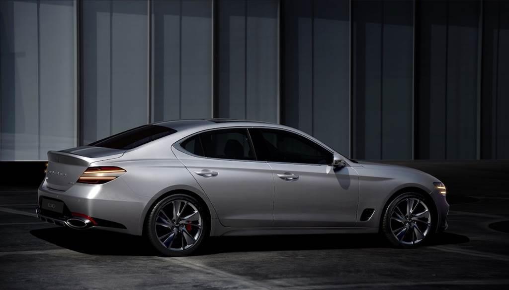 全面更替「Athletic Elegance」新世代設計語彙,Genesis G70 小改款首度亮相