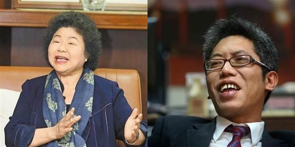 陳菊(左)、丁允恭(右)。(圖/合成圖,素材取自本報系資料照)