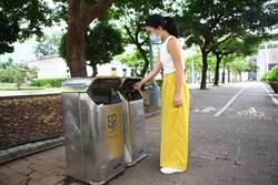 北市公布最新民調 7成4民眾認為街頭要放垃圾桶