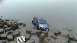 永安漁港人車落海 駕駛神奇自己爬上岸僅輕傷