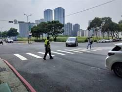 林口、泰山路口猛開單  警一周取締破千件