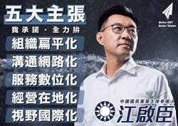 江啟臣拚連任了 黃復興黨部12日起推「復興啟程」