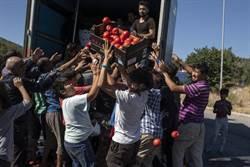 希臘難民營付之一炬 歐洲大哥德法表態願接納收容