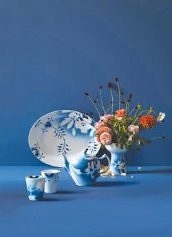 精品餐瓷自然風 餐桌如花園