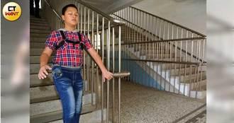 盲眼神童2/母忍心痛看他自己碰撞 勉兒:四肢健全努力就能成功