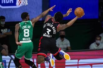 NBA》阿努諾比再次建功 暴龍2OT險勝塞爾提克