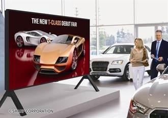 夏普推全球最大120吋8K液晶顯示器 九月下旬台、日同步開賣