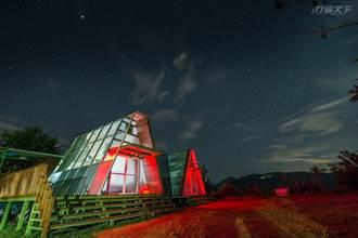 秒睡北歐 像是歐洲童話般玻璃屋內欣賞星空銀河