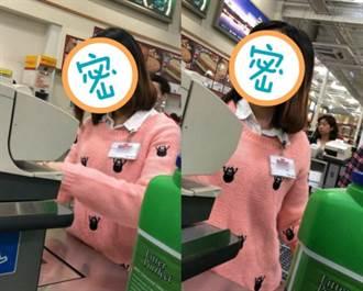 好市多神級女店員結帳畫面曝光 網暴動:哪一家的?