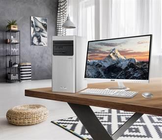 時尚外型內蘊高效 多款華碩桌上型電腦新上市