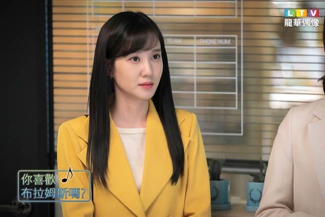 朴恩斌飾演的蔡頌雅學習經歷卻被網友發現,居然跟編劇柳寶利相似。(圖/龍華電視提供)