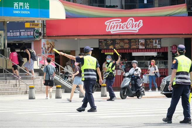 北市交警大隊公布路口安全守則,遠離車禍意外見成效。(北市警察交通大隊翻攝)