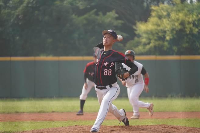 台電18歲投手張弘稜。(中華棒協提供)