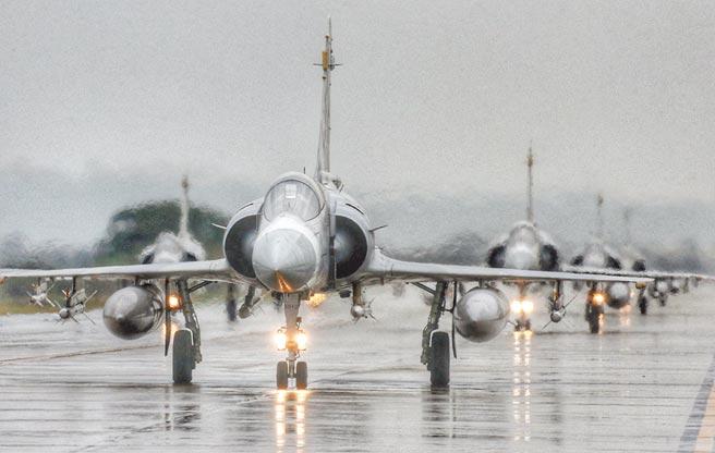 各國現役幻象戰機大多老舊,轉賣乏人問津。(本報資料照片)