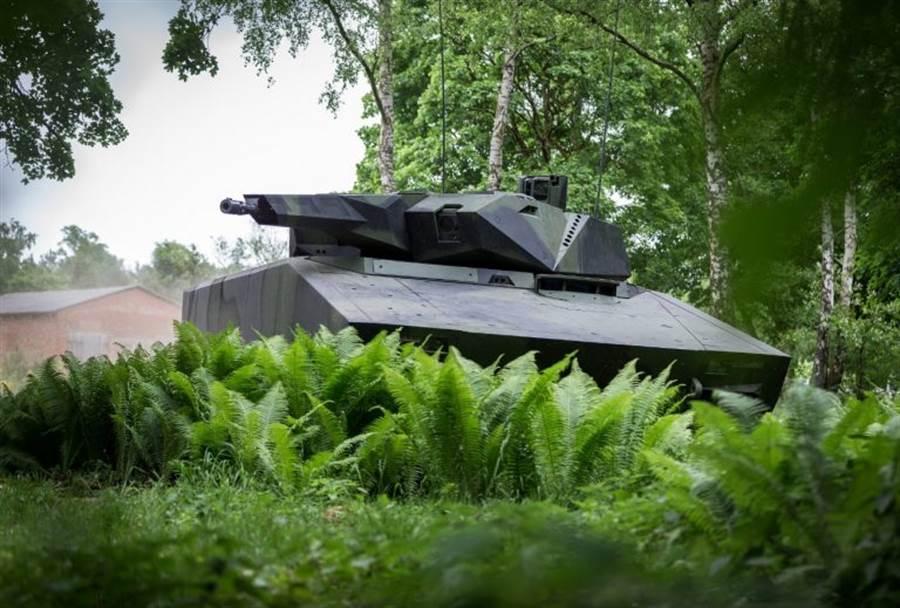萊茵金屬的「山貓式」步兵戰車(Lynx IFV)。(圖/Rheinmetall)