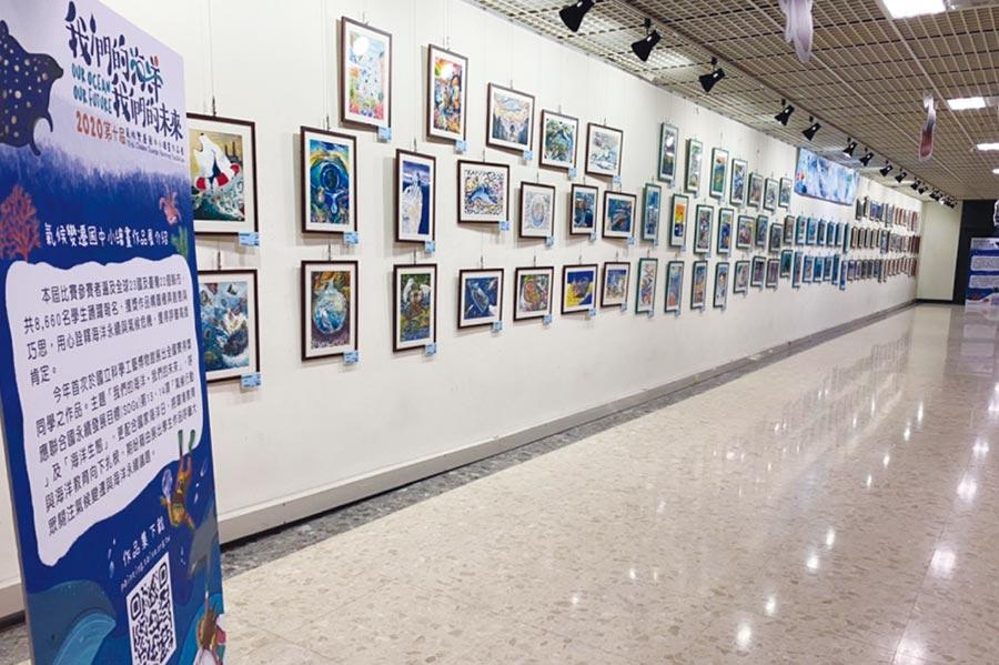 展出作品豐富精采,搭配科工館氣候變遷常設展,有助於學生了解氣候變遷議題。圖/基金會提供