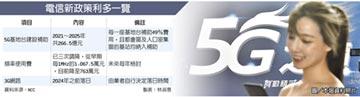 5G建設補助 敲定五年266億