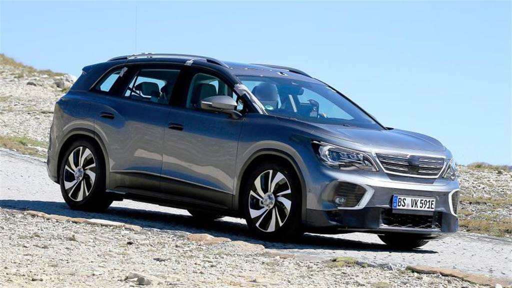 福斯 ID.6 電動 SUV 首度捕獲:主打大型休旅車市場,2021 年量產上市