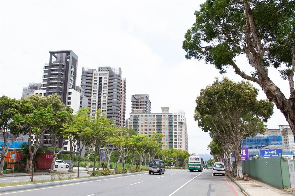 ▲新潤興業今年7月砸下10億8145萬元買下林口文化二路2筆土地。(中時新聞網攝)