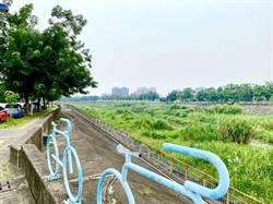 中市旱溪自行車道打卡新熱點,親水環境超宜居