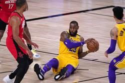 NBA》變陣有效!湖人強壓火箭宣告聽牌