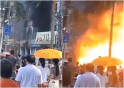 廣東珠海一間酒店附近爆炸 傷亡不明