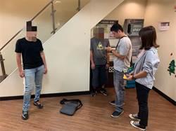 菜鳥詐騙成員領錢太久 同伴下樓察看同遭警逮捕